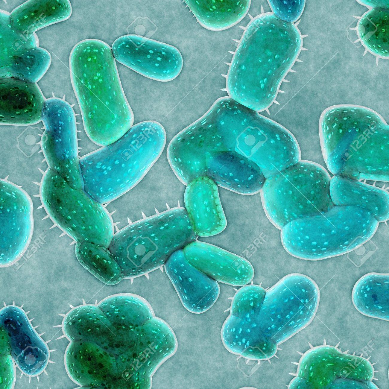 bacteria cells Stock Photo - 19759463