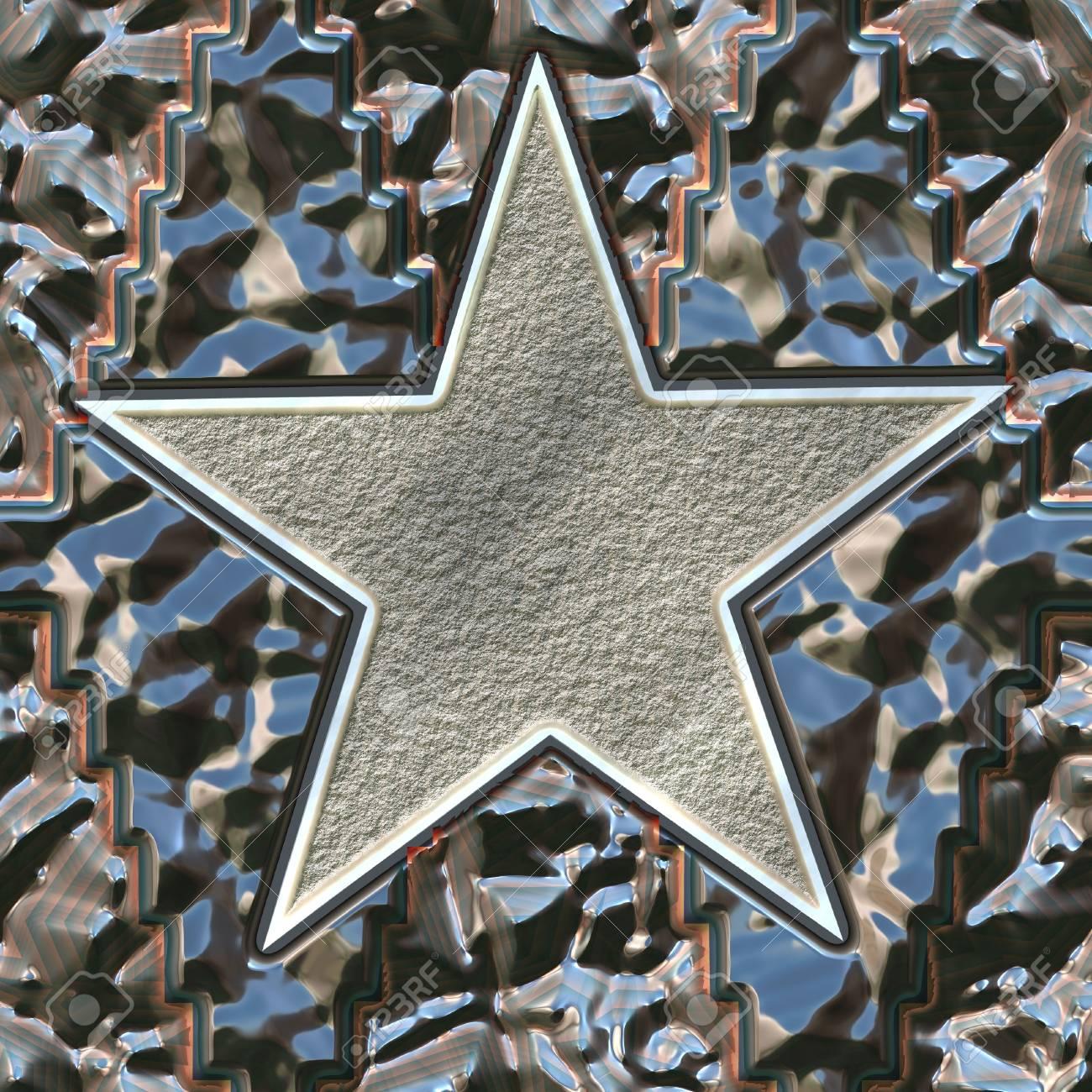 metal star Stock Photo - 21494672