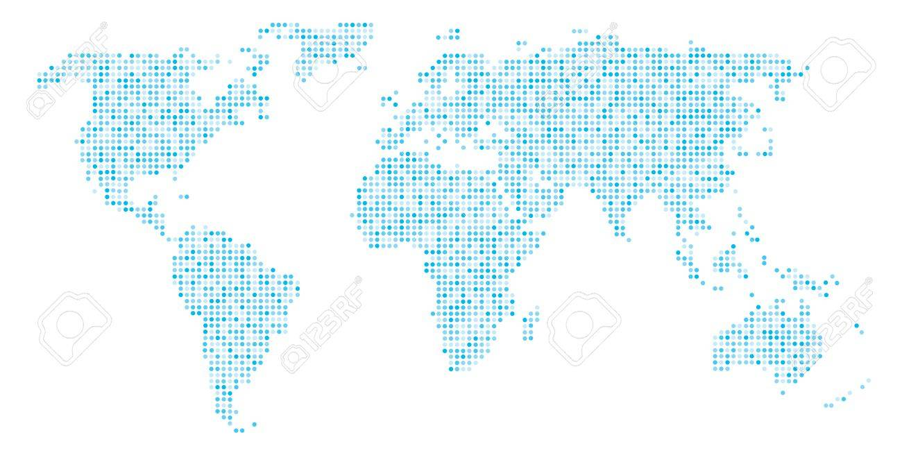 World map dots eps 10 royalty free cliparts vectors and stock vector world map dots eps 10 gumiabroncs Gallery