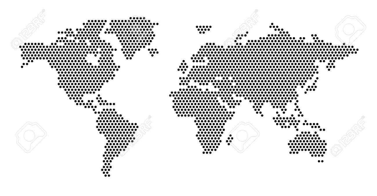 World map concept eps 10 royalty free cliparts vectors and stock world map concept eps 10 stock vector 39042542 gumiabroncs Images