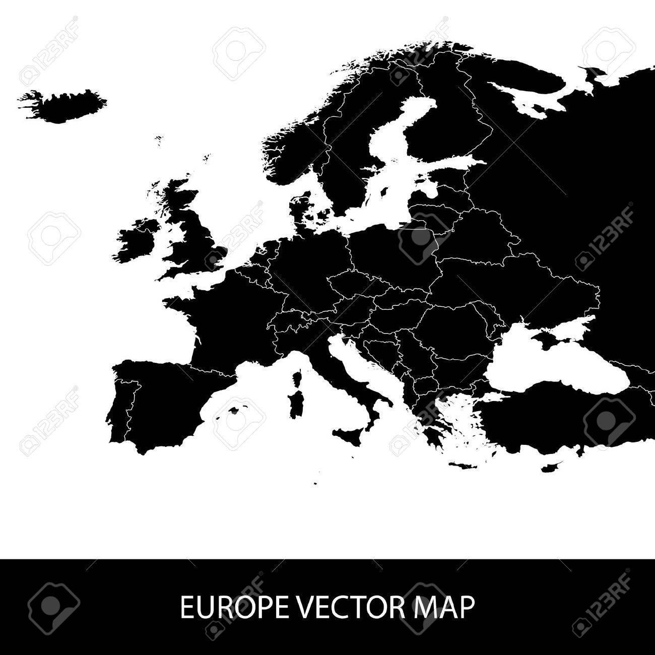 Europe Vector Map - 38787141