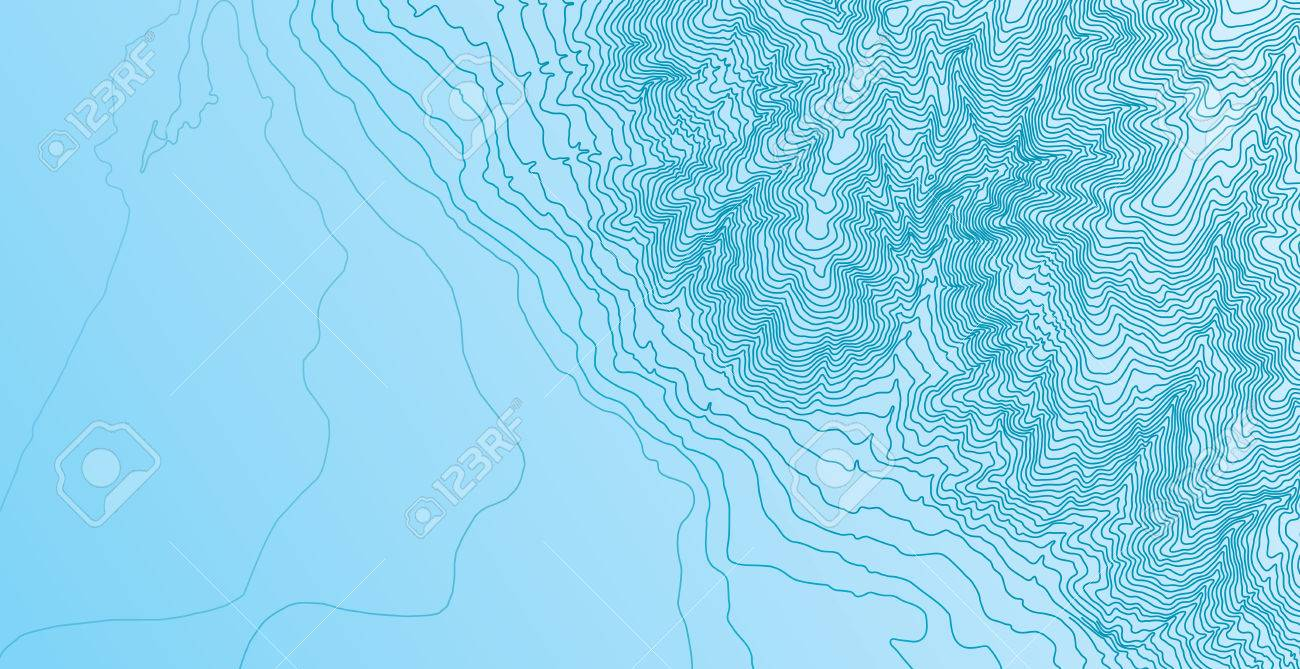 Topographic map background concept - 39074406