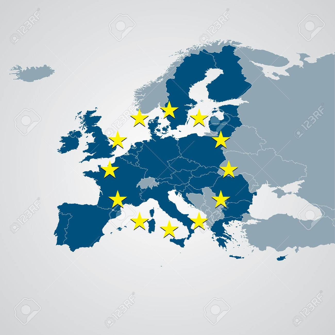 Europe Map - 39081728