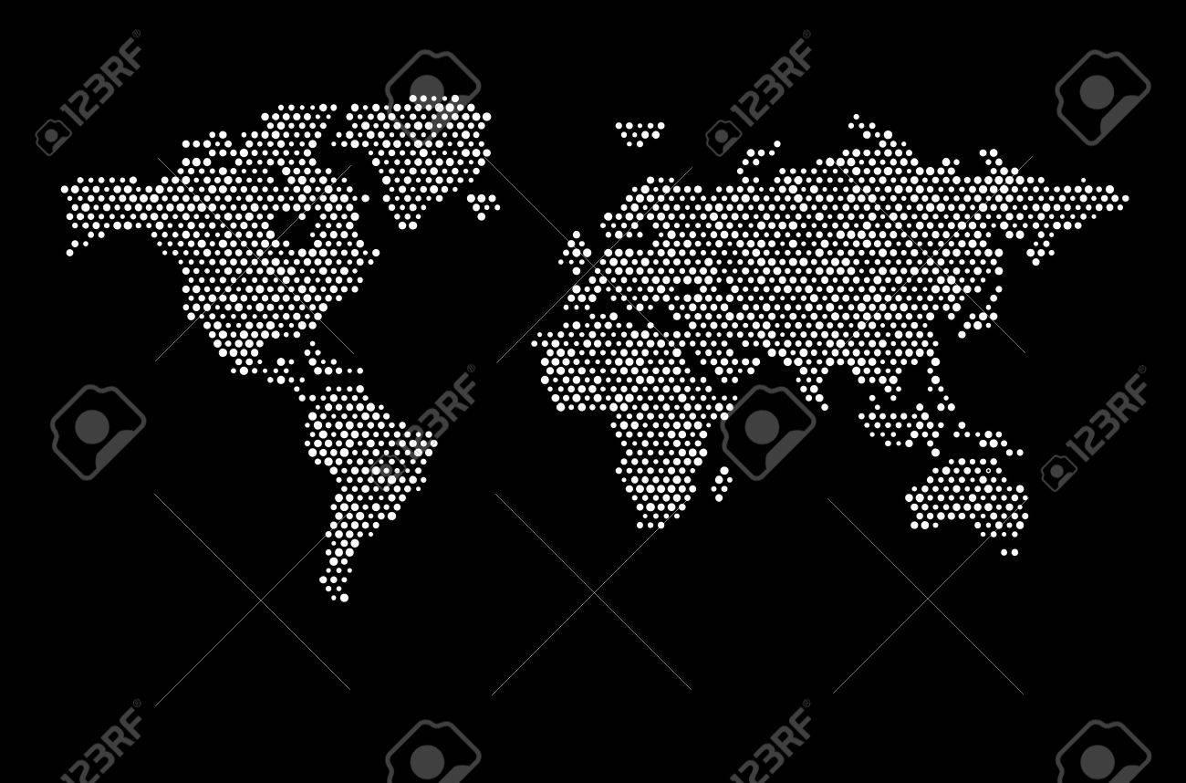 World map dots matrix royalty free cliparts vectors and stock vector world map dots matrix gumiabroncs Images