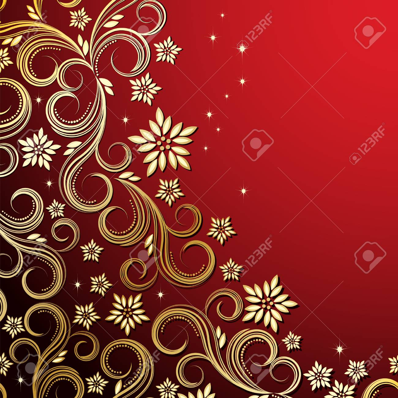 Holiday floral background Stock Vector - 6421120