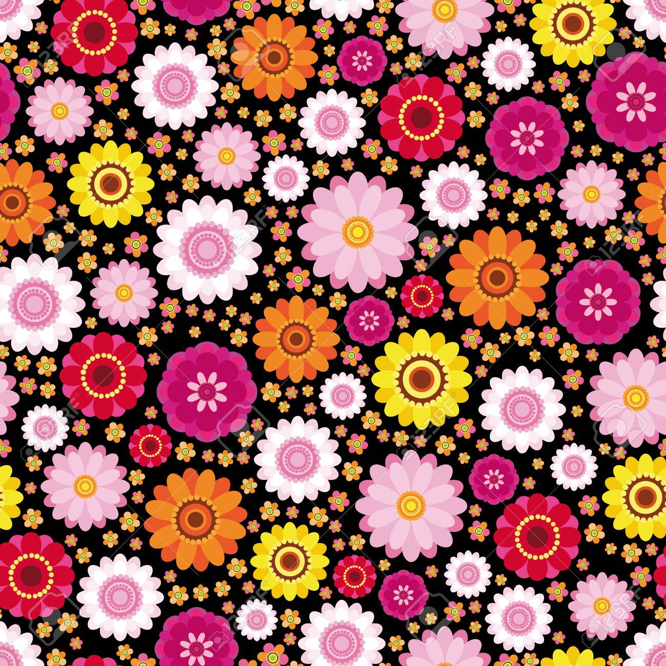 Easter Floral Background An Illustration For Your Design Project
