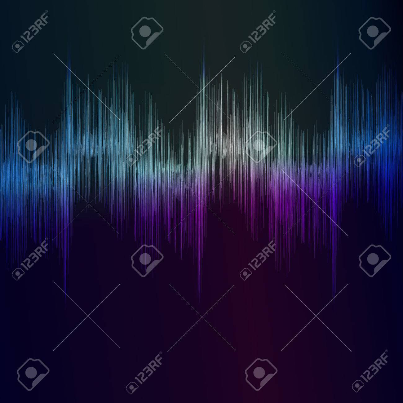 Eps Sound Equalizer Rhythm Music Beats Stock Vector - 7279378