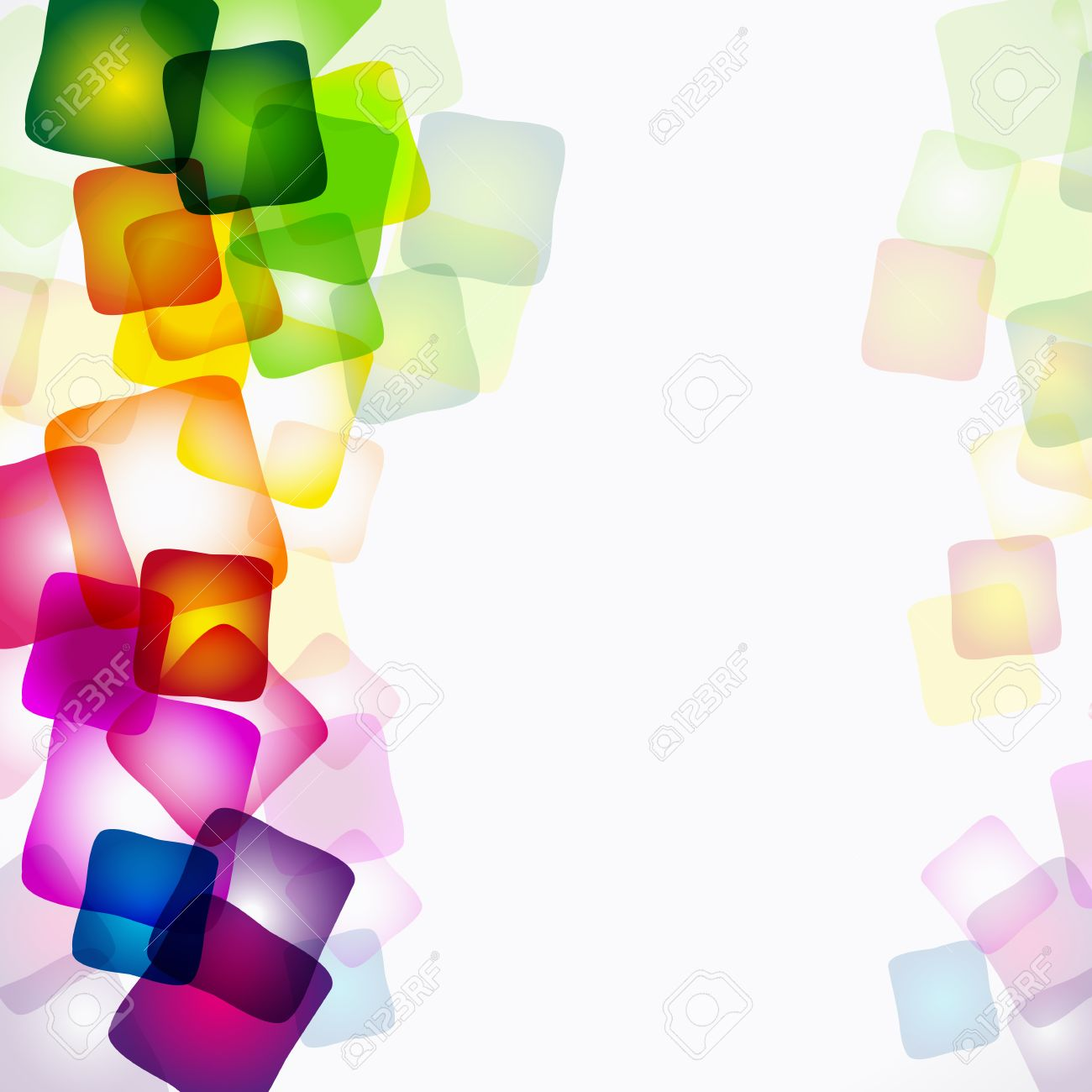 Vector abstract bright colorful background. Stock Vector - 8977231
