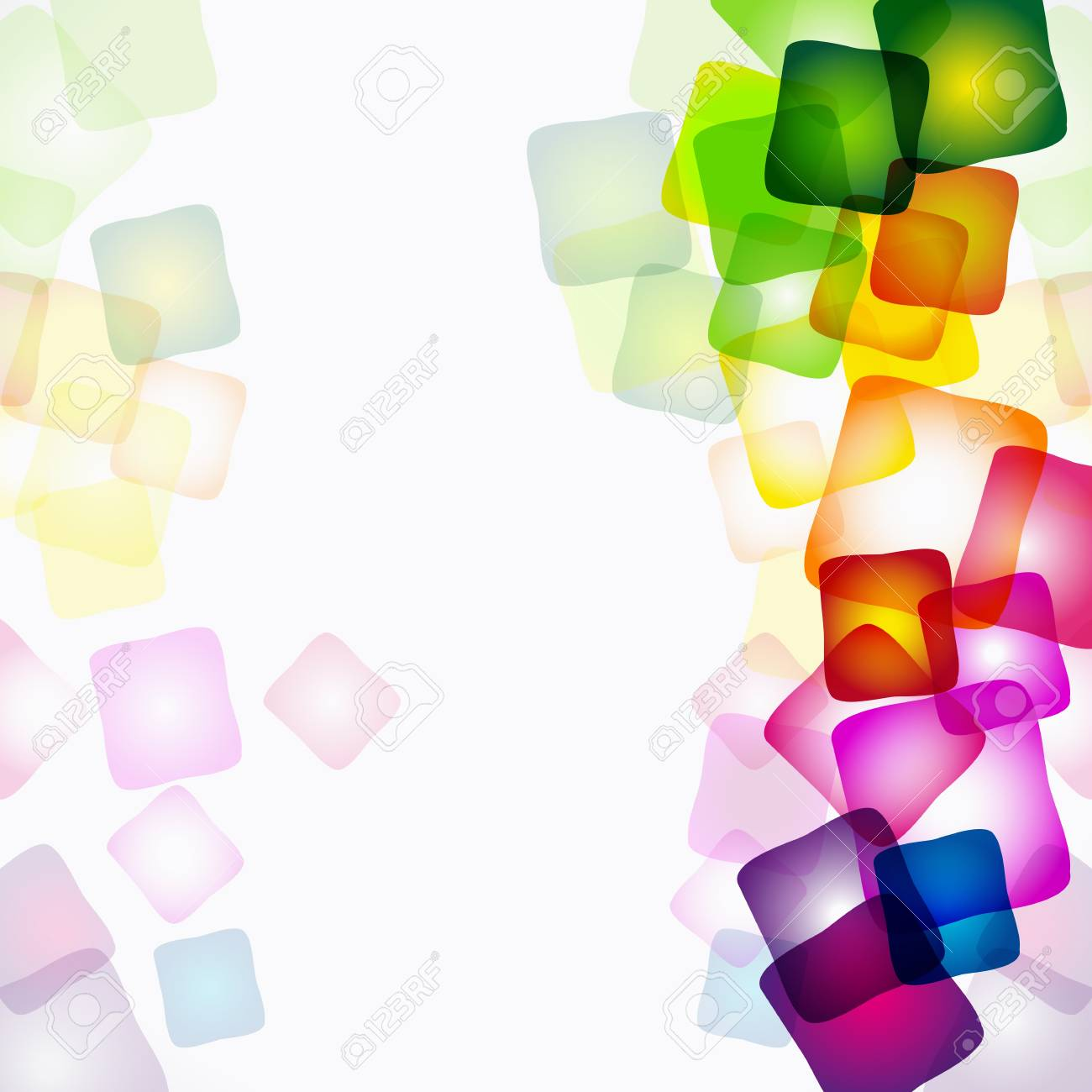 Vector abstract colorful background. Stock Vector - 9668630