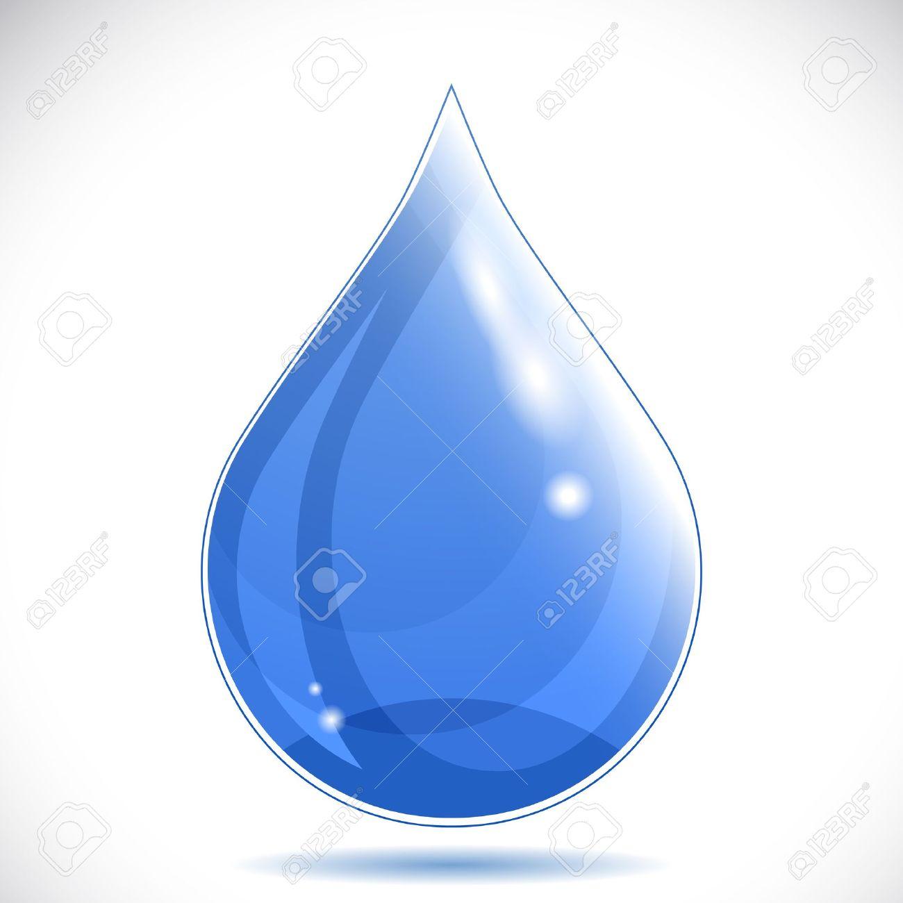 Water drop - vector illustration. Stock Vector - 10113612