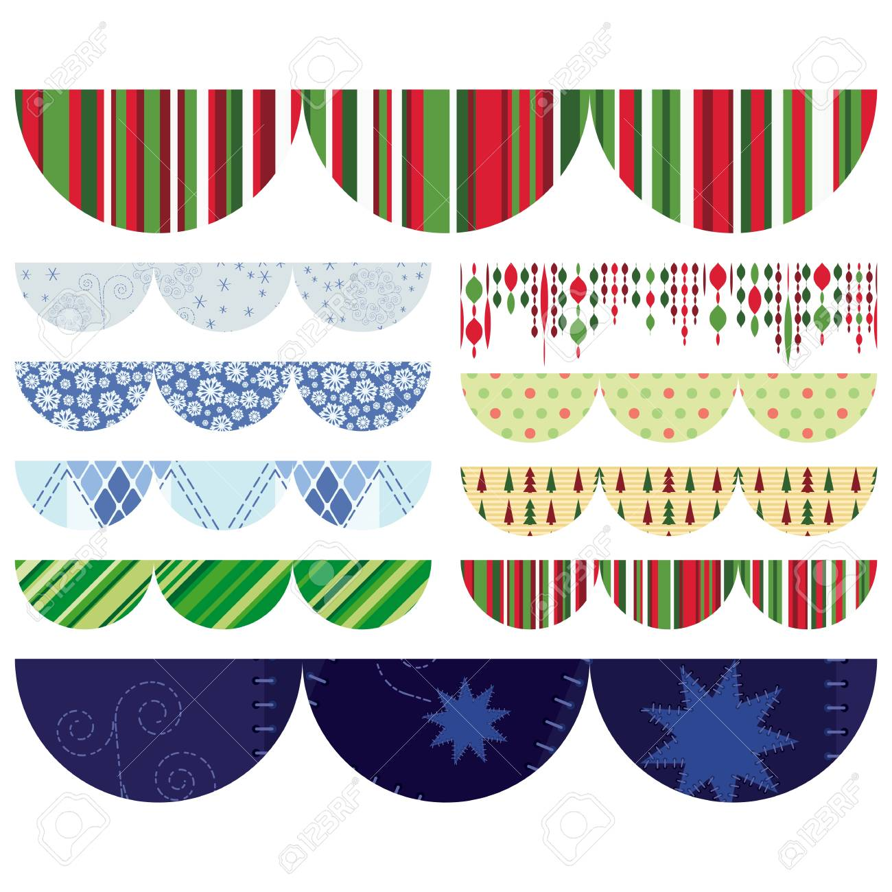 Set of Christmas design elements Stock Photo - 11310710