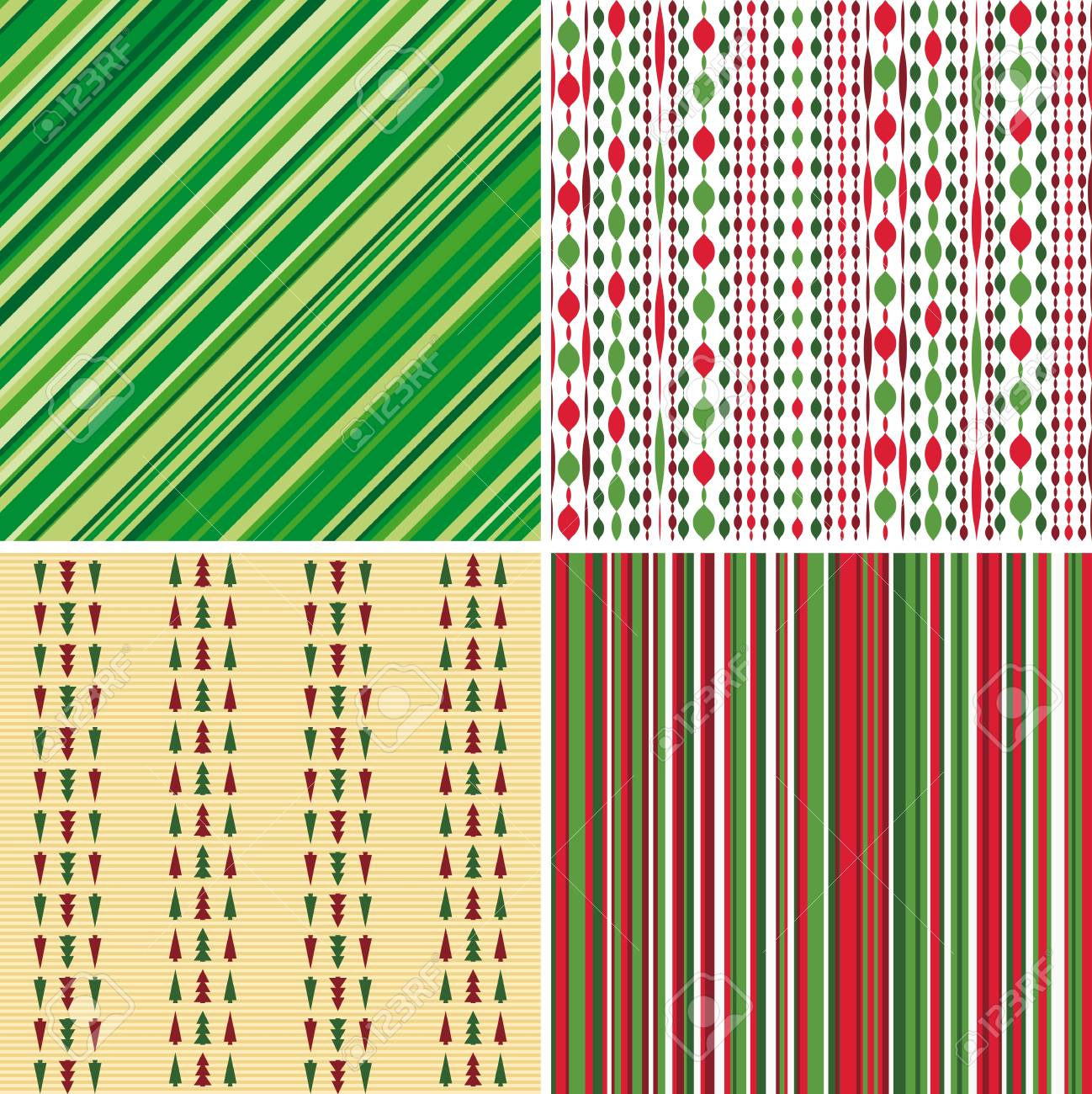 Set of Christmas backgrounds Stock Photo - 11310757