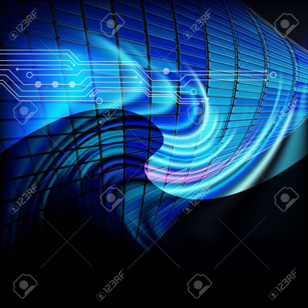 abstract techno line background texture Stock Vector - 12944130