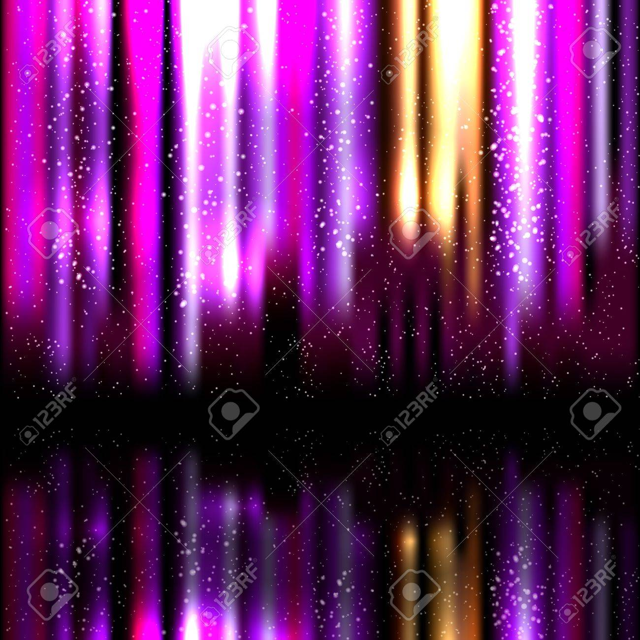 abstract glowing background. Vector illustration Stock Vector - 17660159