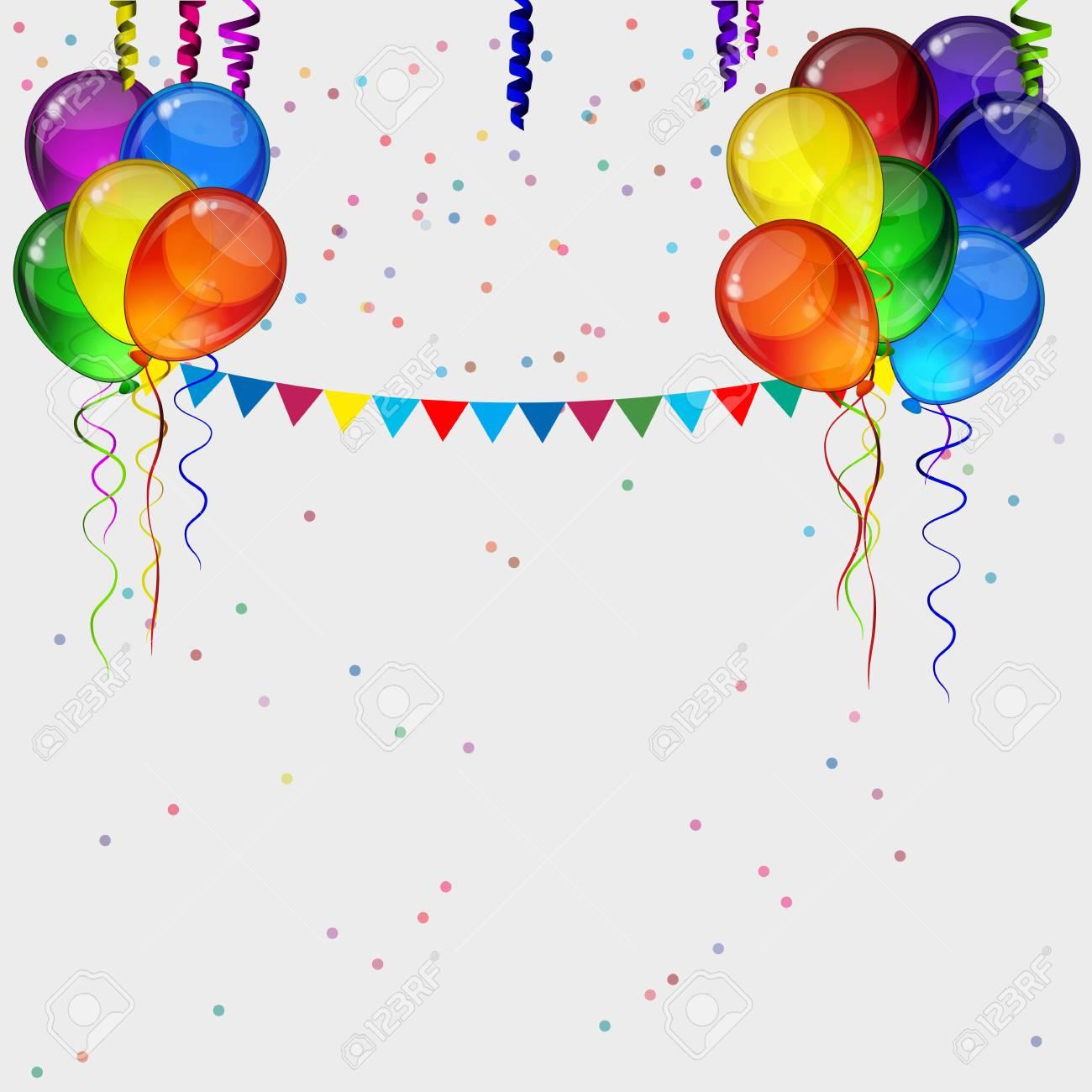 birthday party ribbons