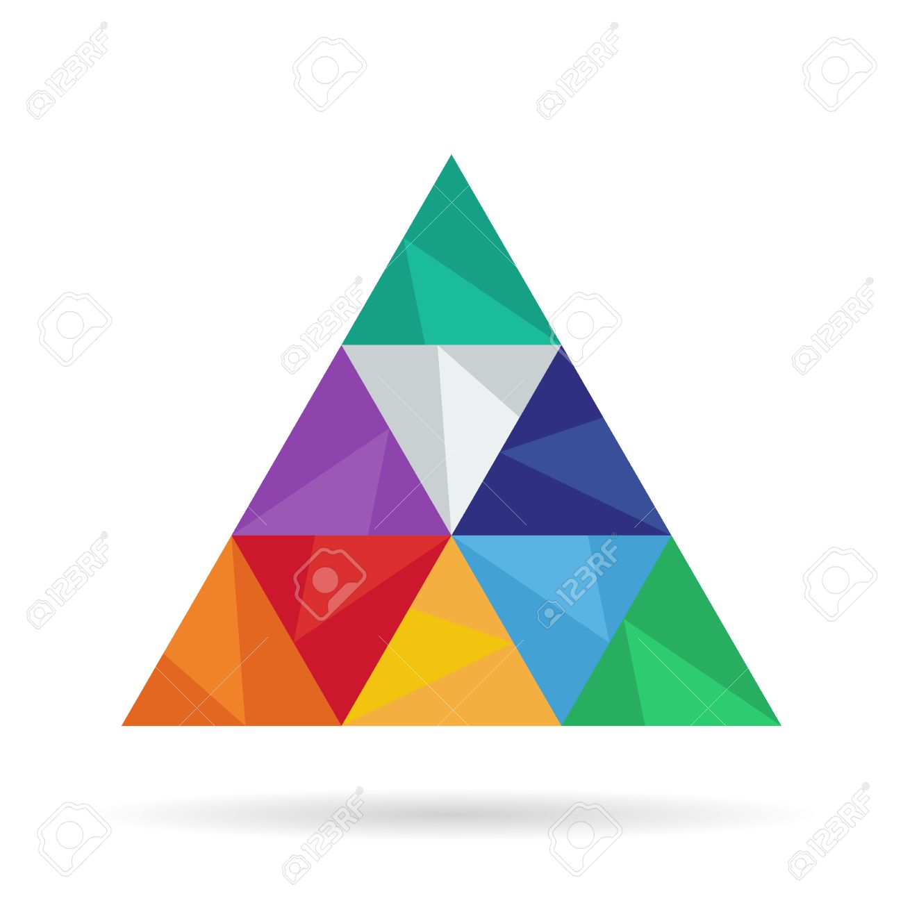 abstract background with triangular geometric shapes stylish