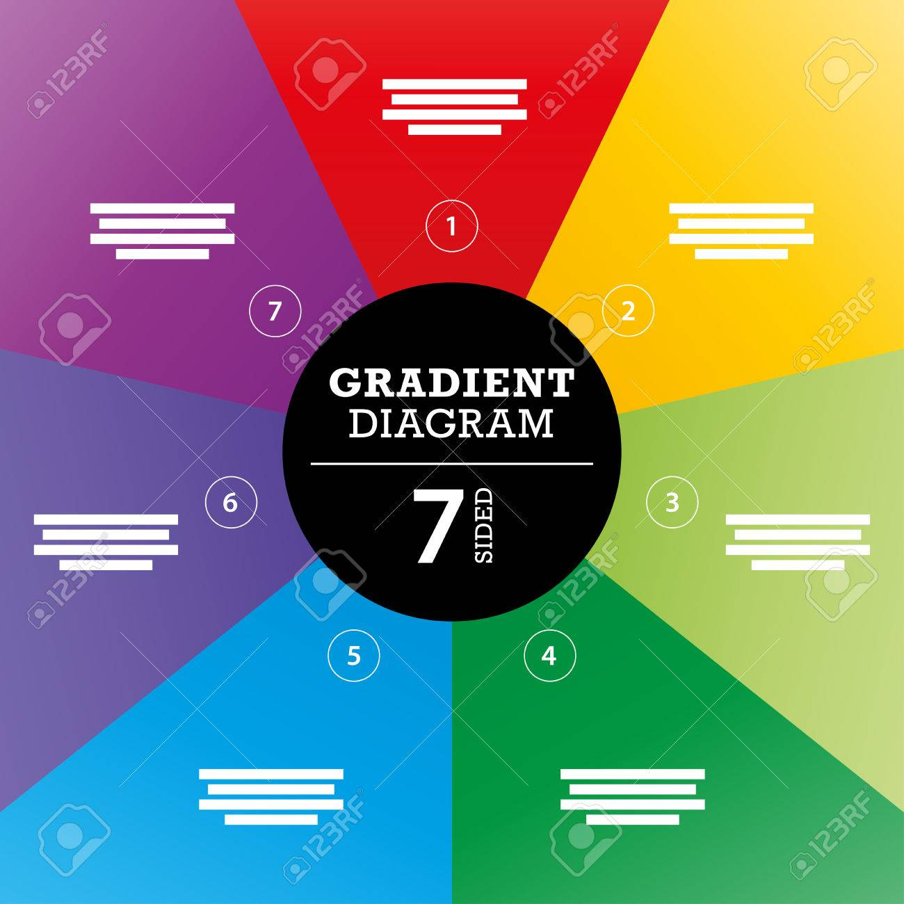 Gradient full background stripe diagram vector - 30818868