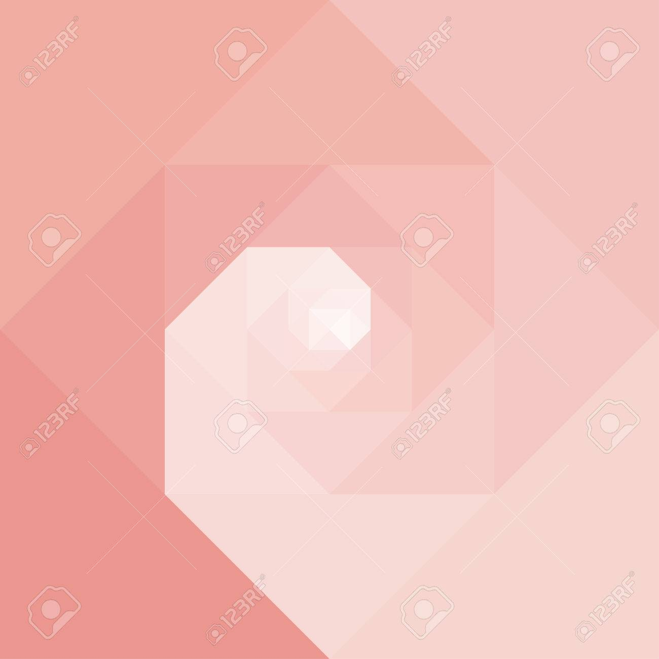 Abstract geometric vortex spiral background. Dynamic optical art. Vector illustration graphic. . - 42284157