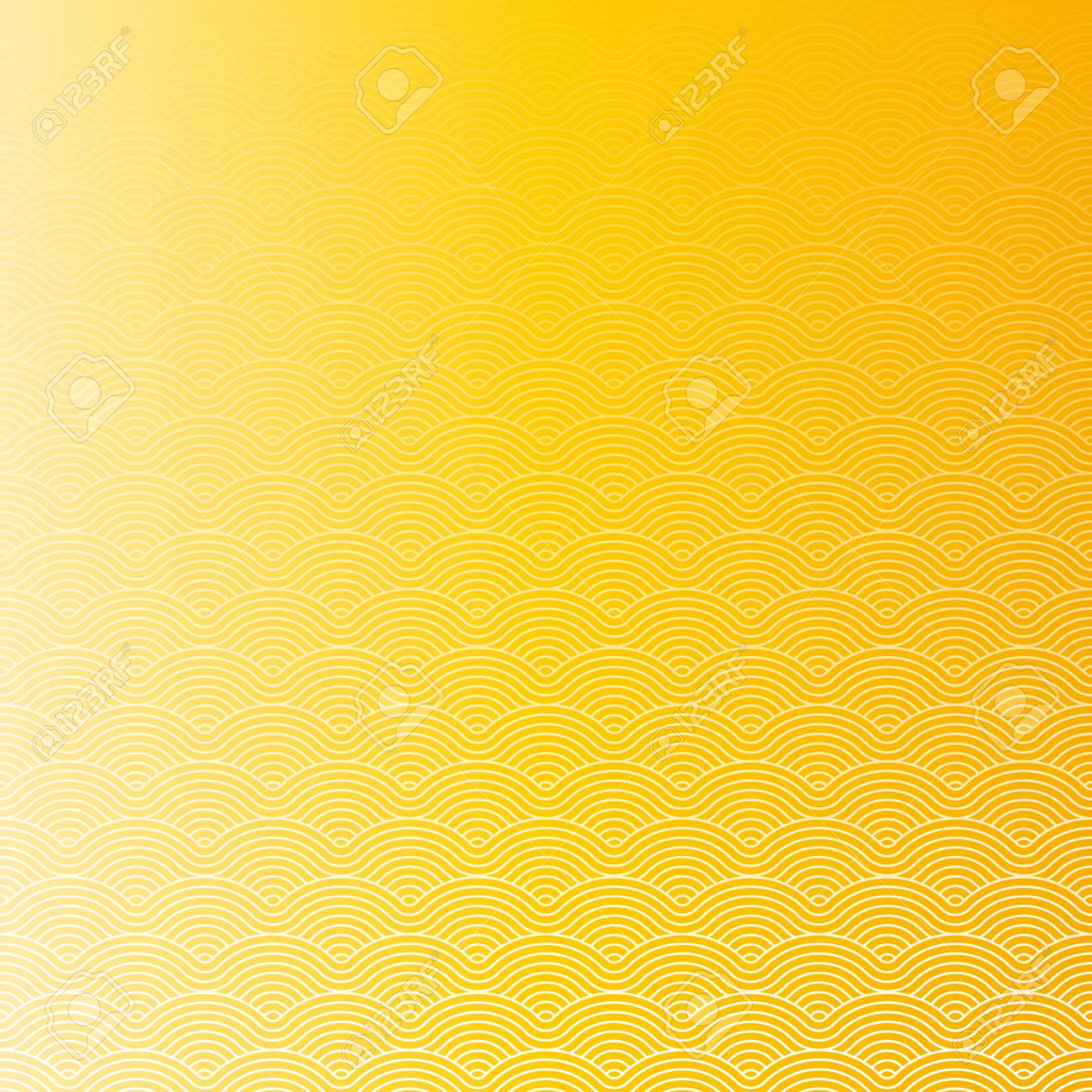 Colorful geometric repetitive vector curvy waves pattern texture background vector graphic illustration - 46085180