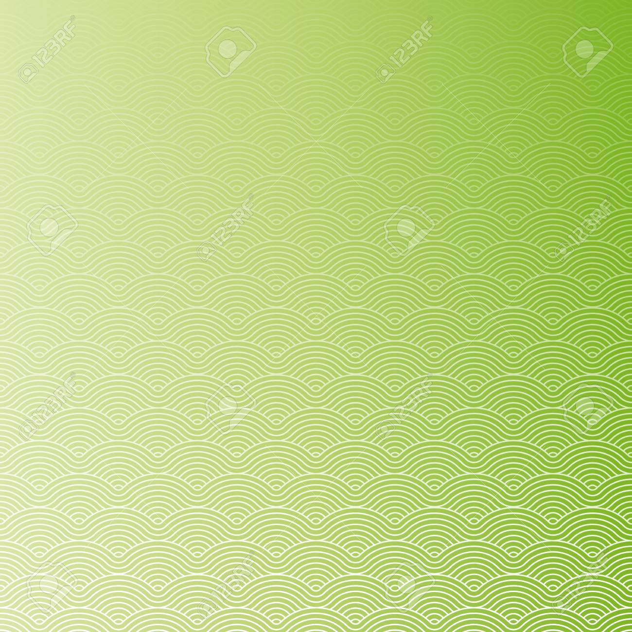 Colorful geometric repetitive vector curvy waves pattern texture background vector graphic illustration - 46085256