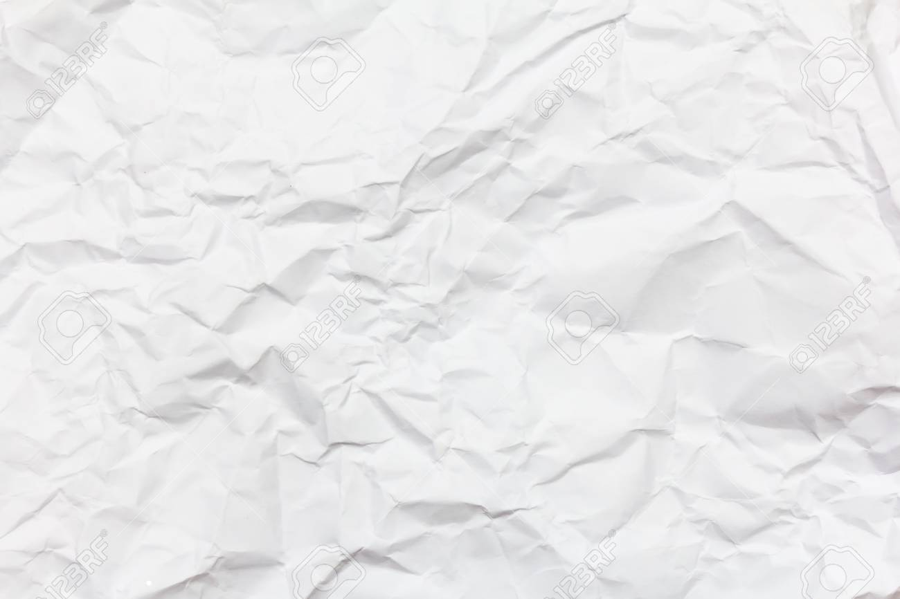 white crumpled paper background texture stock photo picture and