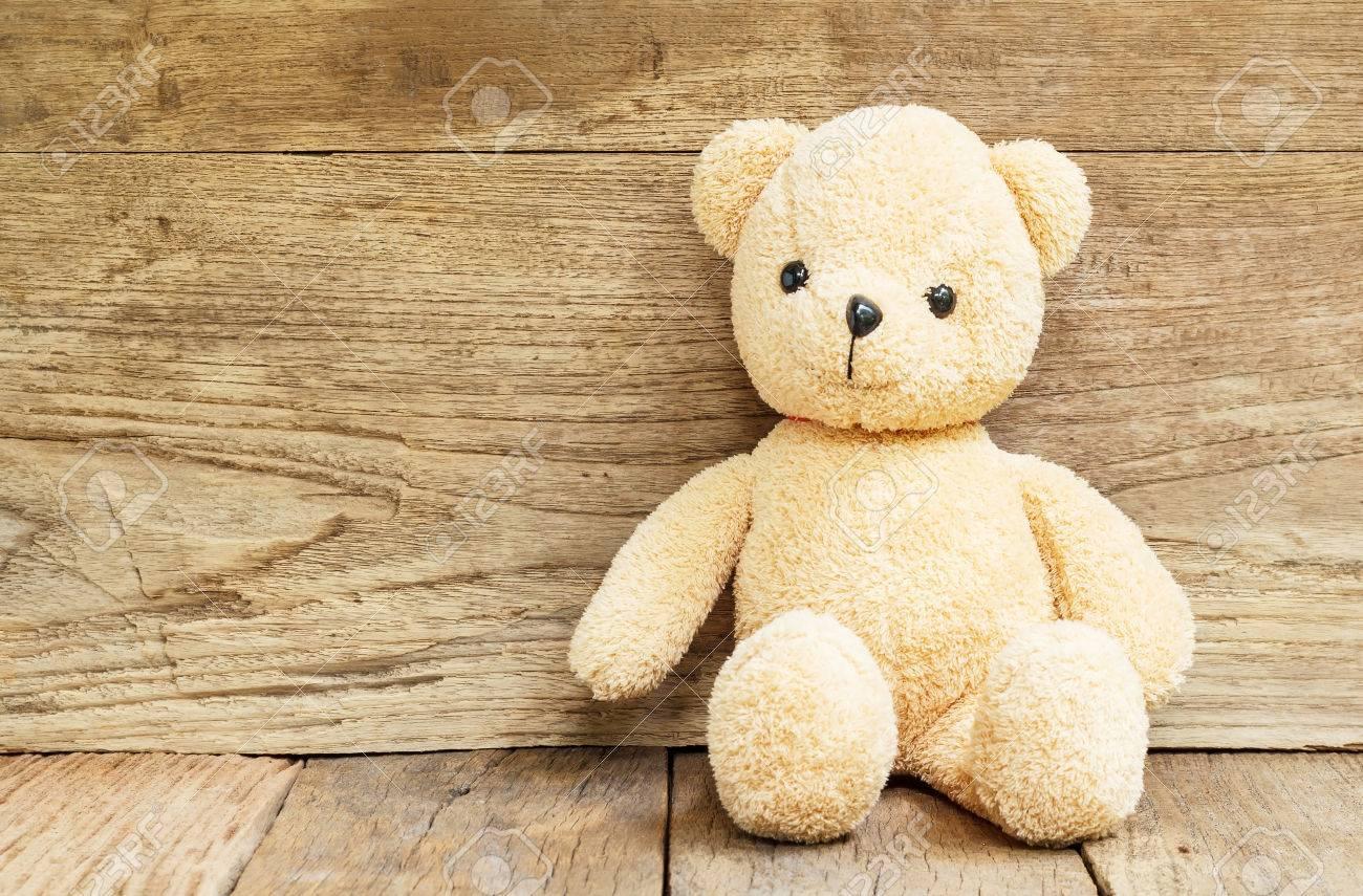 Wood Teddy Bear Toy