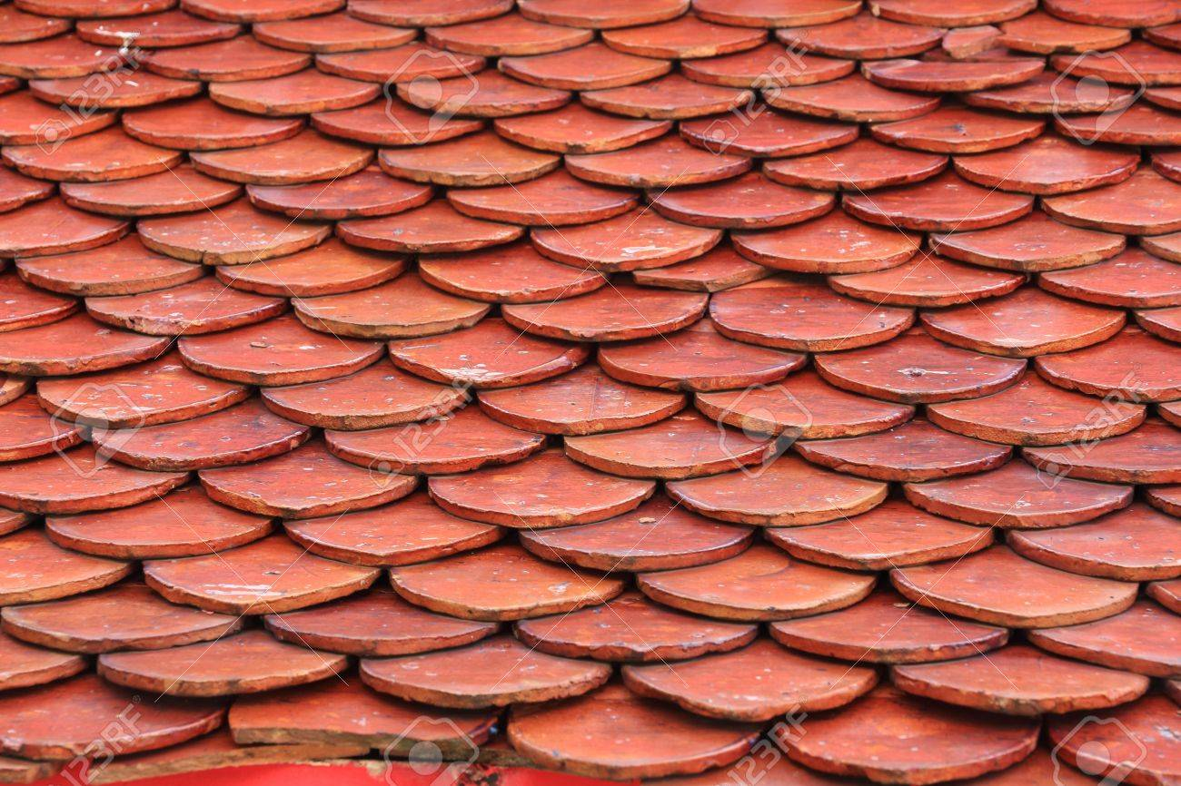 Seamless Red Clay Roof Tiles Stock Photo Picture And Royalty Free Image Image 20387057