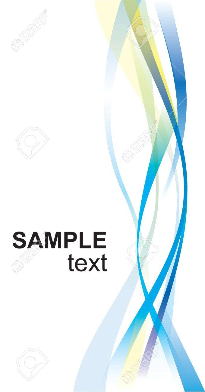 Abstract backgrounds with waves for design Stock Vector - 10349235
