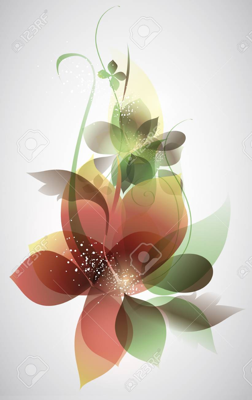 Vector beautiful flower background art for design royalty free vector vector beautiful flower background art for design izmirmasajfo