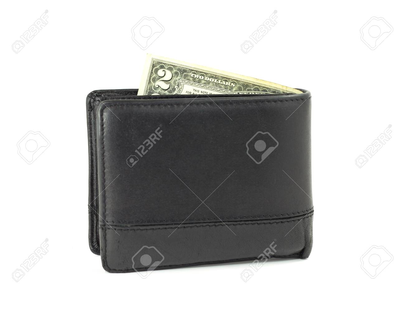 Two dollar in wallet Stock Photo - 14808721