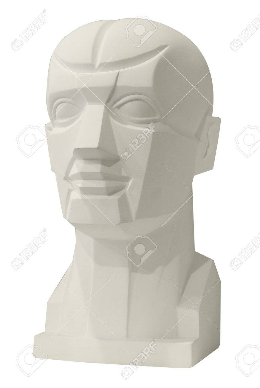 Sculptures Anatomy Head For Drawing Class Stock Photo, Picture And ...
