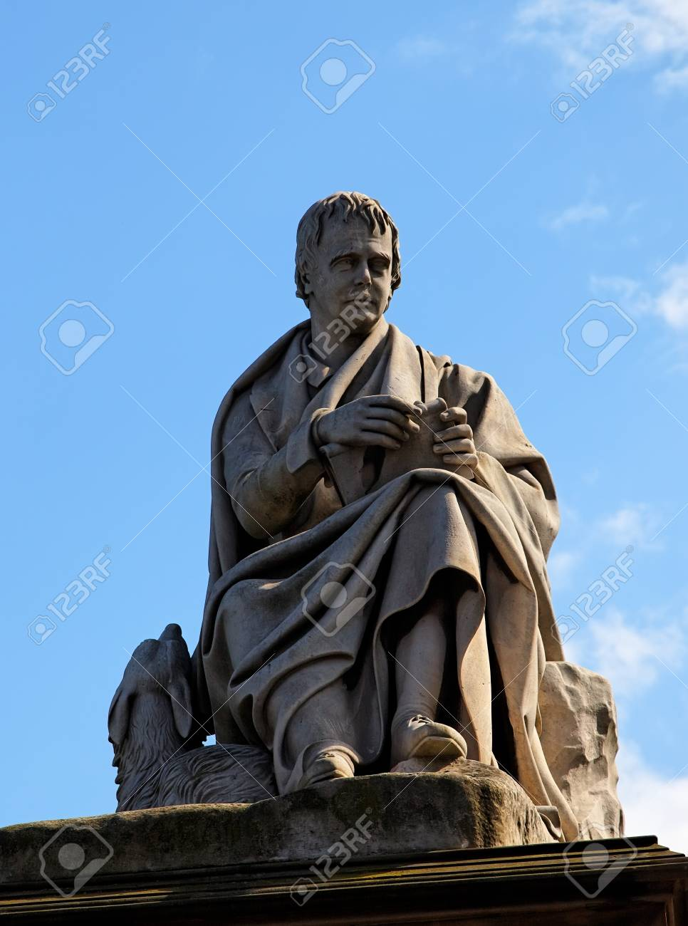 Detail of Walter Scotts monument. Edinburgh. Scotland. UK. Stock Photo - 7554546