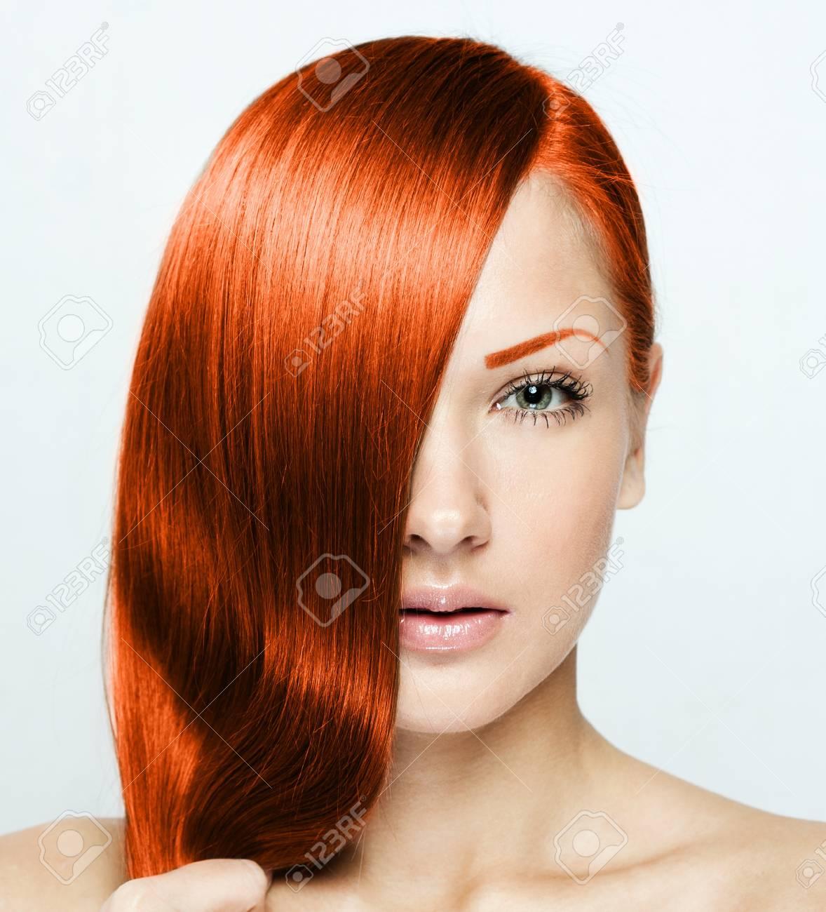 Frauen haare frisuren rote Frisur Bob