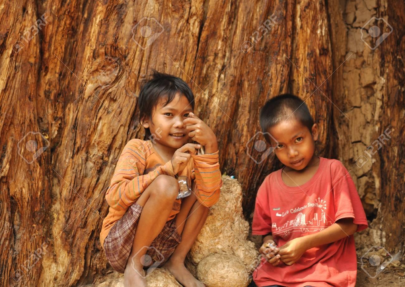 Children in Camdobia. Stock Photo - 11816912