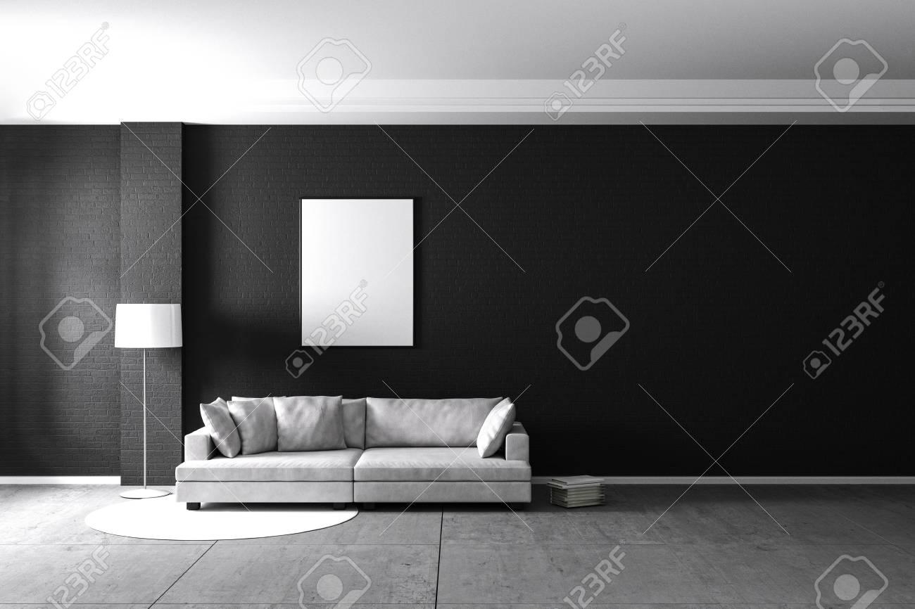3d rendering living room minimalist interior light and shadow rh 123rf com