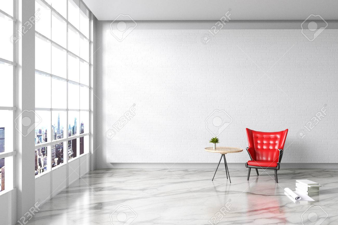 3d Rendering : Illustration Of Modern Vintage Interior Living ...