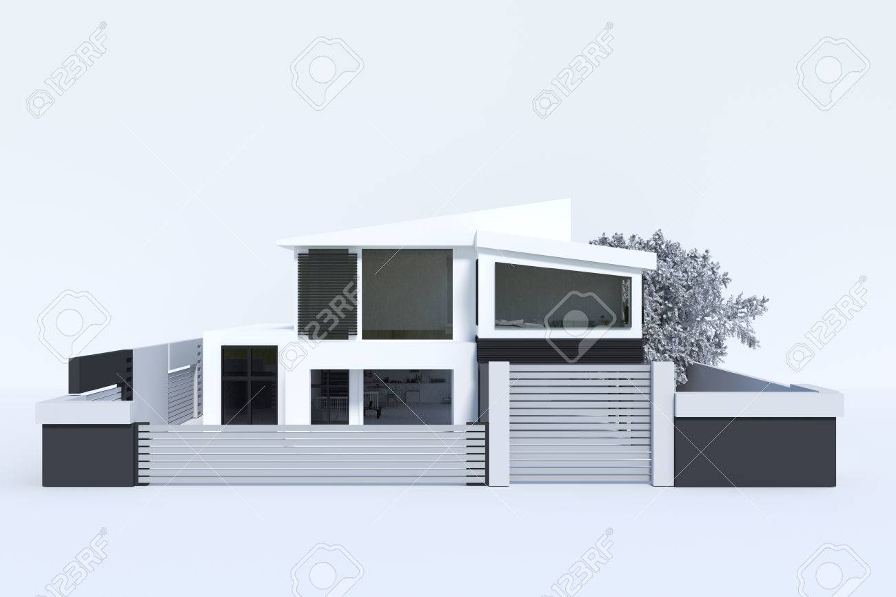 3d Rendering : Illustration Of House Or Home Building Isolated ... on free 3d house plans, free 3d house models, free 3d business, free 3d printing, free 3d design, free 3d software, design home building,