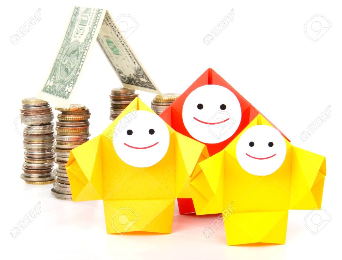 Conceptual image of money, earnings, and economy Stock Photo - 14208023