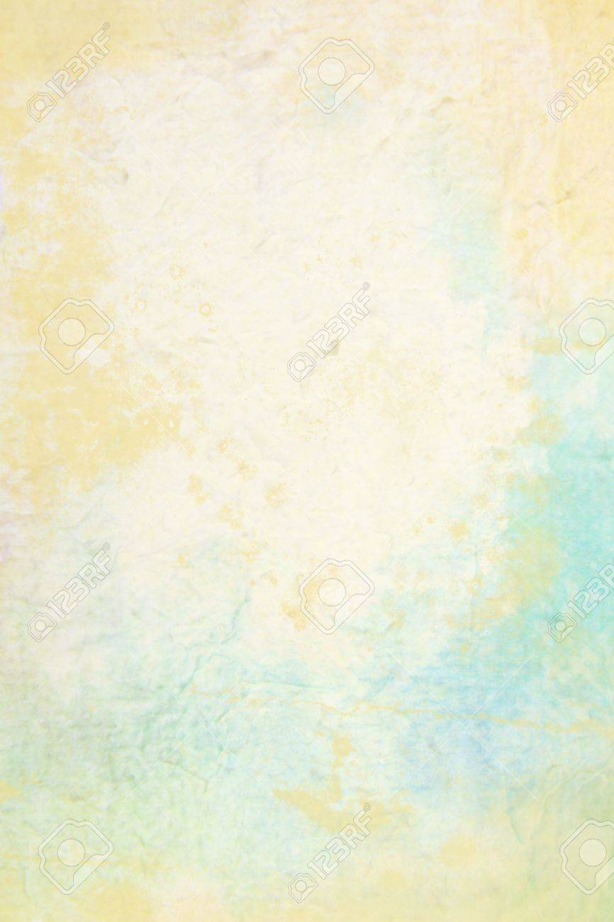 Abstract textured background  blue, brown, and yellow patterns  For art texture, grunge design, and vintage paper   border frame Stock Photo - 16253036
