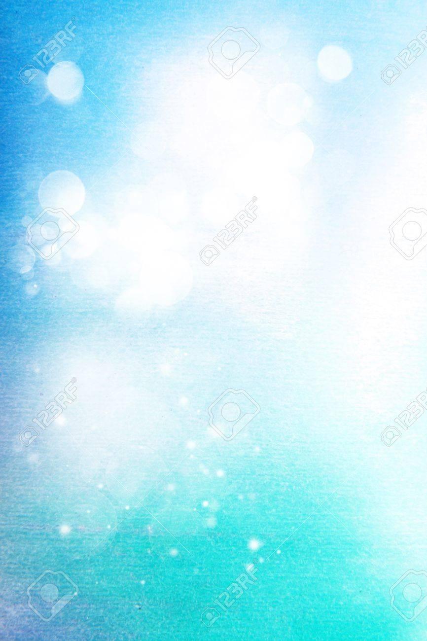 Résumé Fond Texturé Motifs Blancs Sur Fond Bleu Ciel Comme Toile De