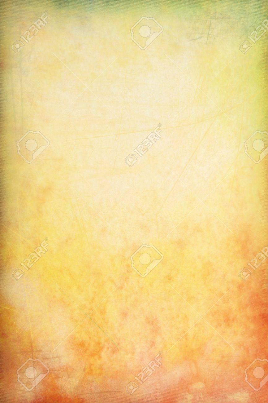Fesselnd Grain Gelb / Braun / Grüne Farbe Wand Hintergrund Oder Vintage Textur. Für  Die Kunst