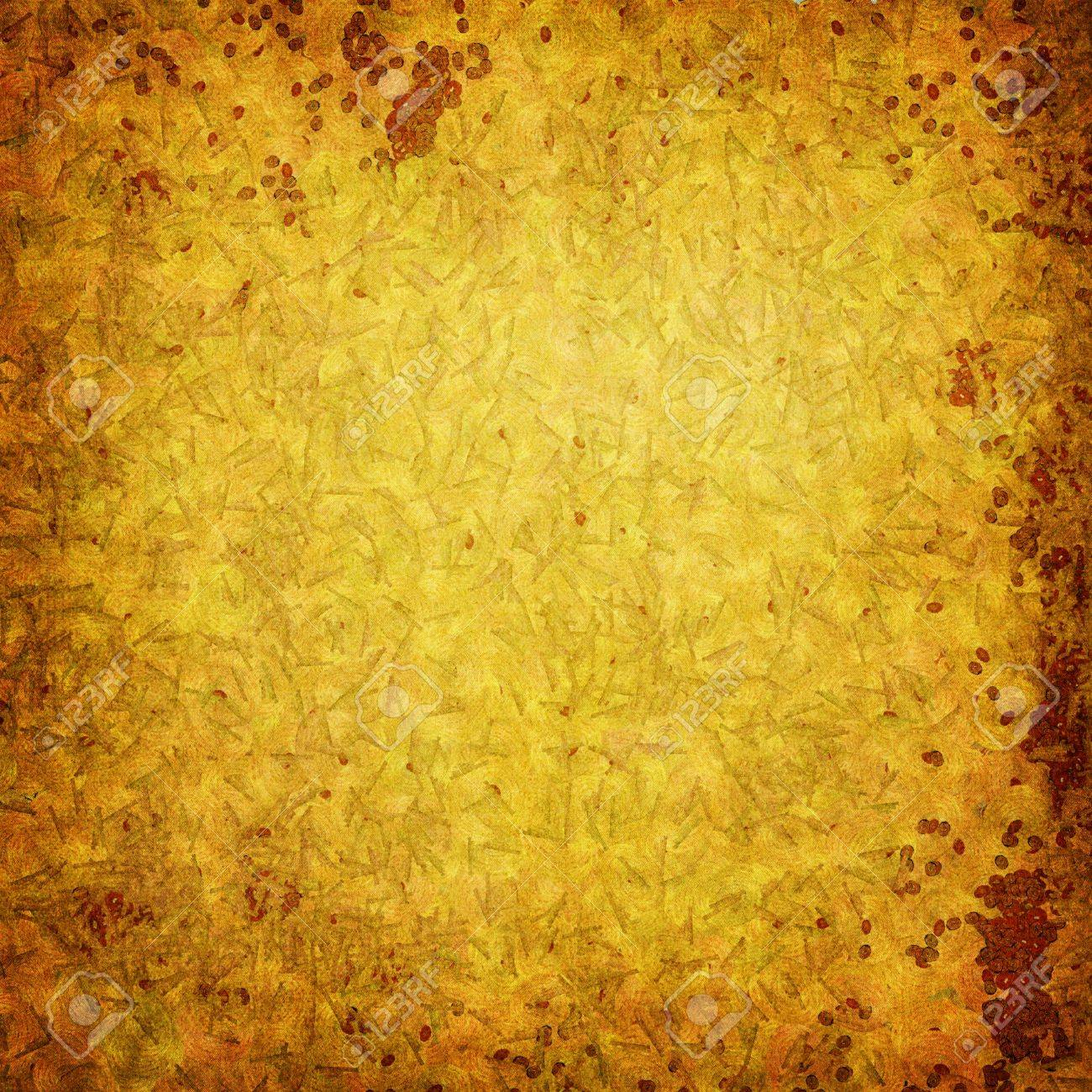 Highly detailed brown and yellow grunge background or paper with vintage texture and space for your text, image or border frame Stock Photo - 17438346