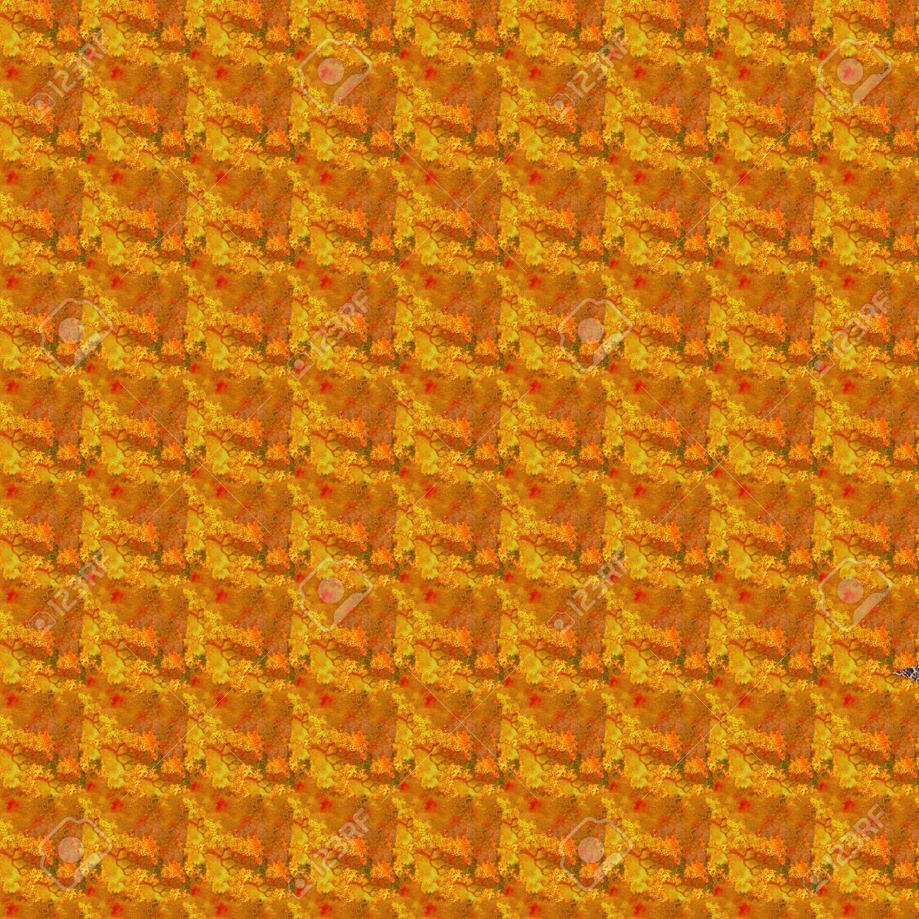 Brown and orange seamless grunge texture. For vintage layout design, holiday background invitation or web template Stock Photo - 17560236