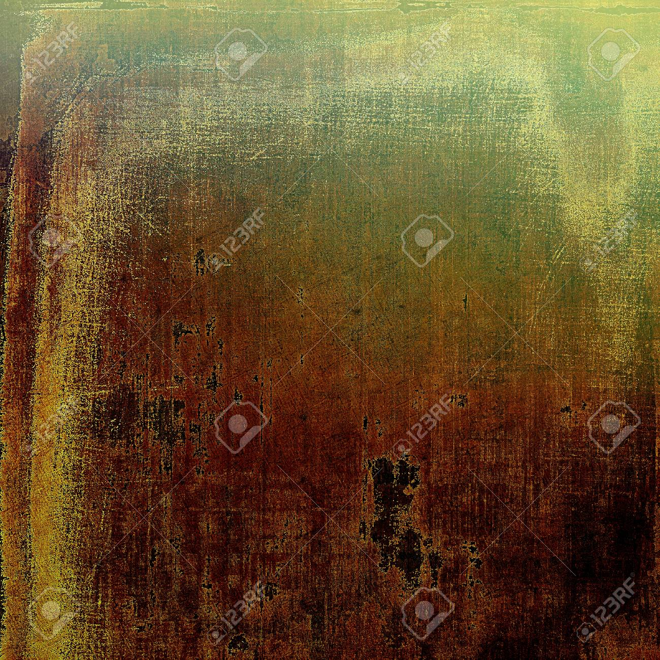 Creative Vintage Grunge Texture Or Ragged Old Background For Art Projects With Different Color Patterns
