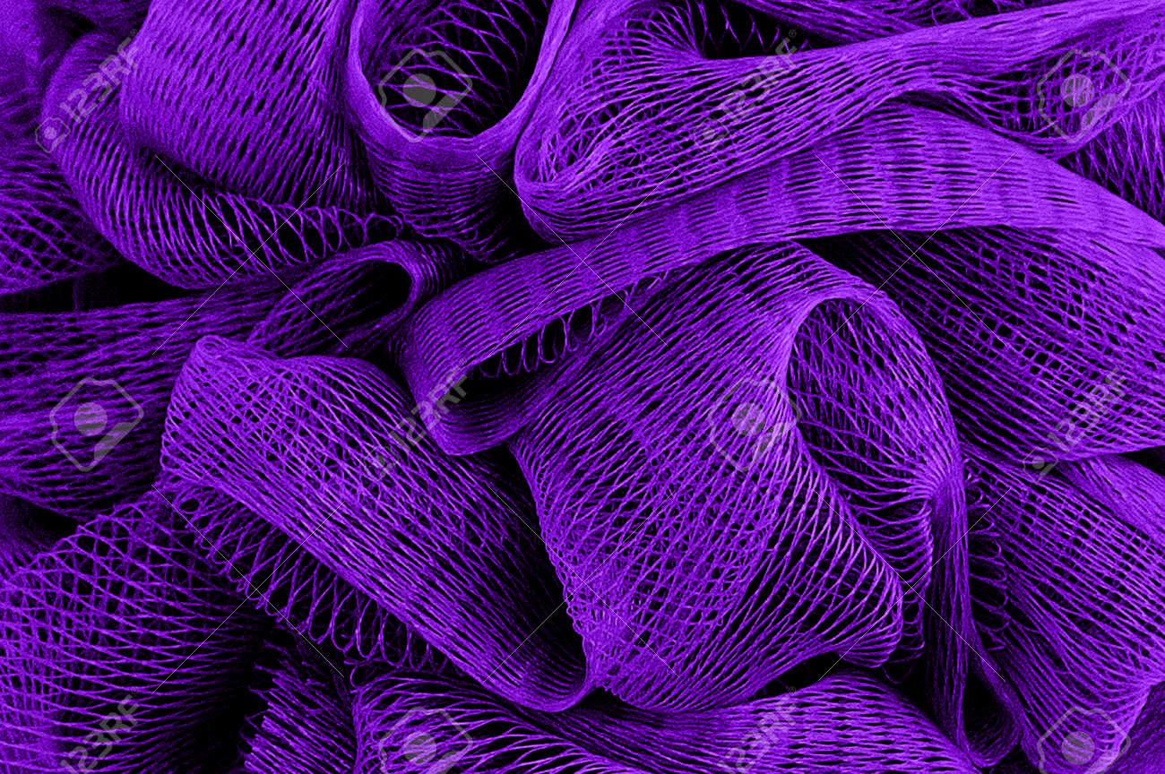 Purple abstract mesh wavy textured texture. Dark background. - 170079058
