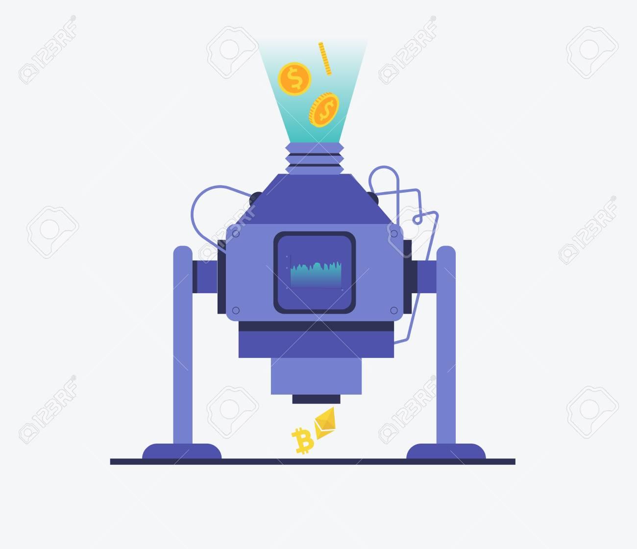 comercio de bitcoins con una máquina virtual sistemas de negociação automatizados