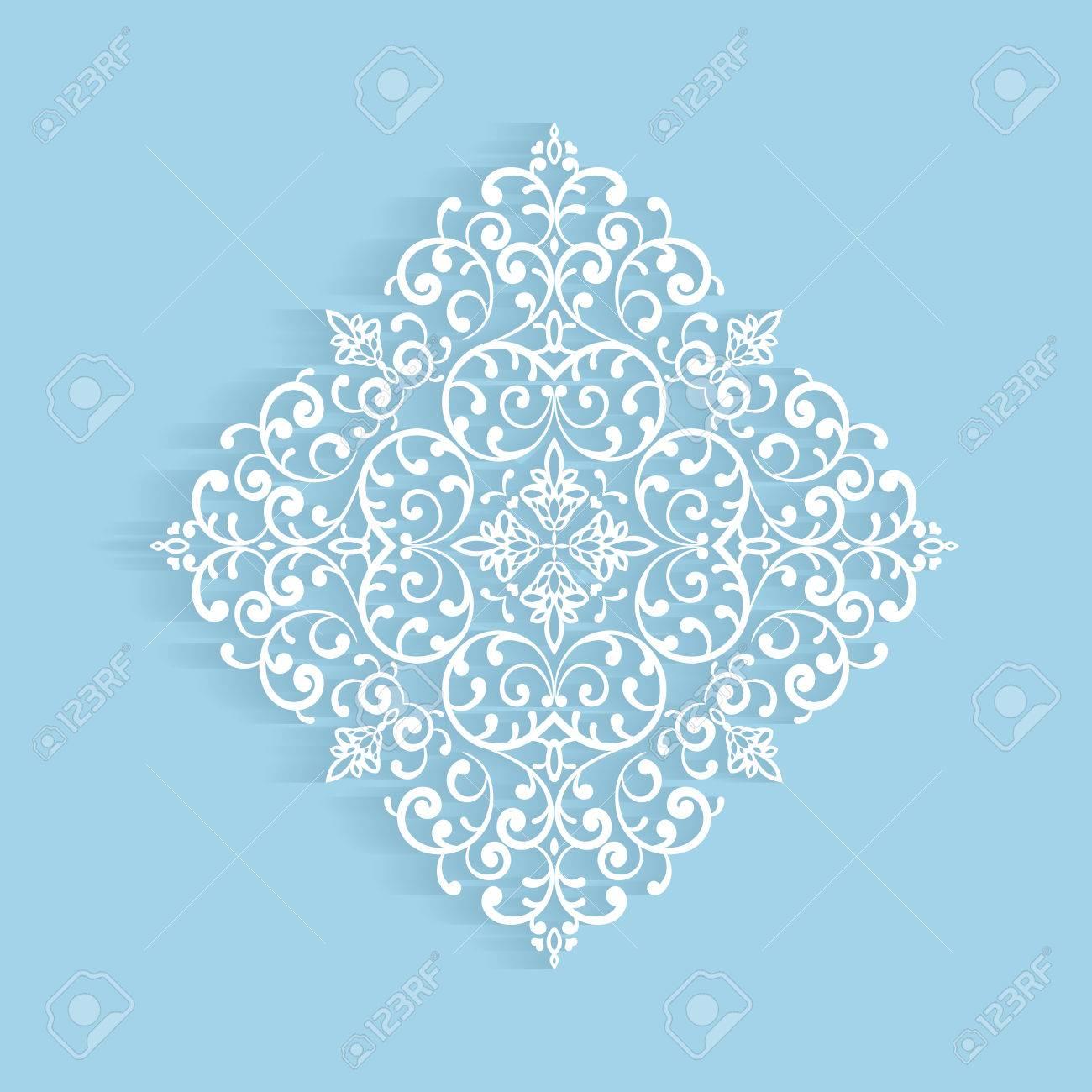 Papier Spitzendeckchen, Dekorative Schneeflocke, Häkeln Ornament ...