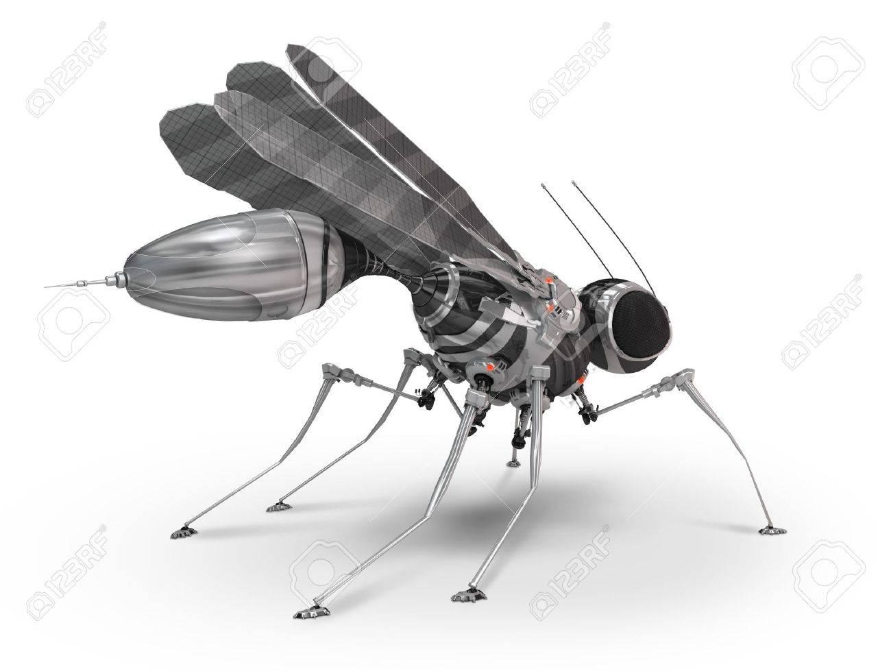 Robot mosquito Stock Photo - 12668841