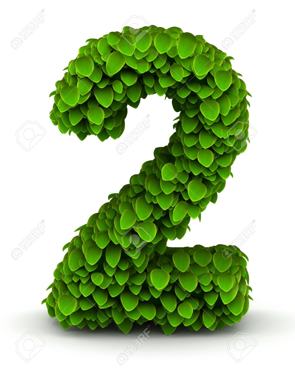 Number 2 green leaves font ecology theme on white background stock number 2 green leaves font ecology theme on white background stock photo 21304663 biocorpaavc Gallery