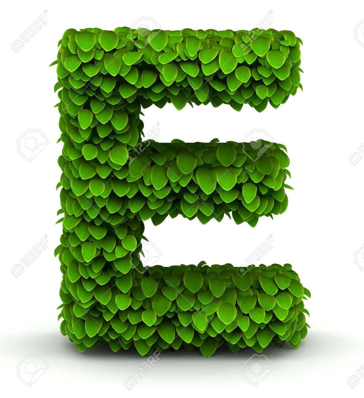 Leaves alphabet font letter e on white background stock photo leaves alphabet font letter e on white background stock photo 21304678 biocorpaavc Gallery